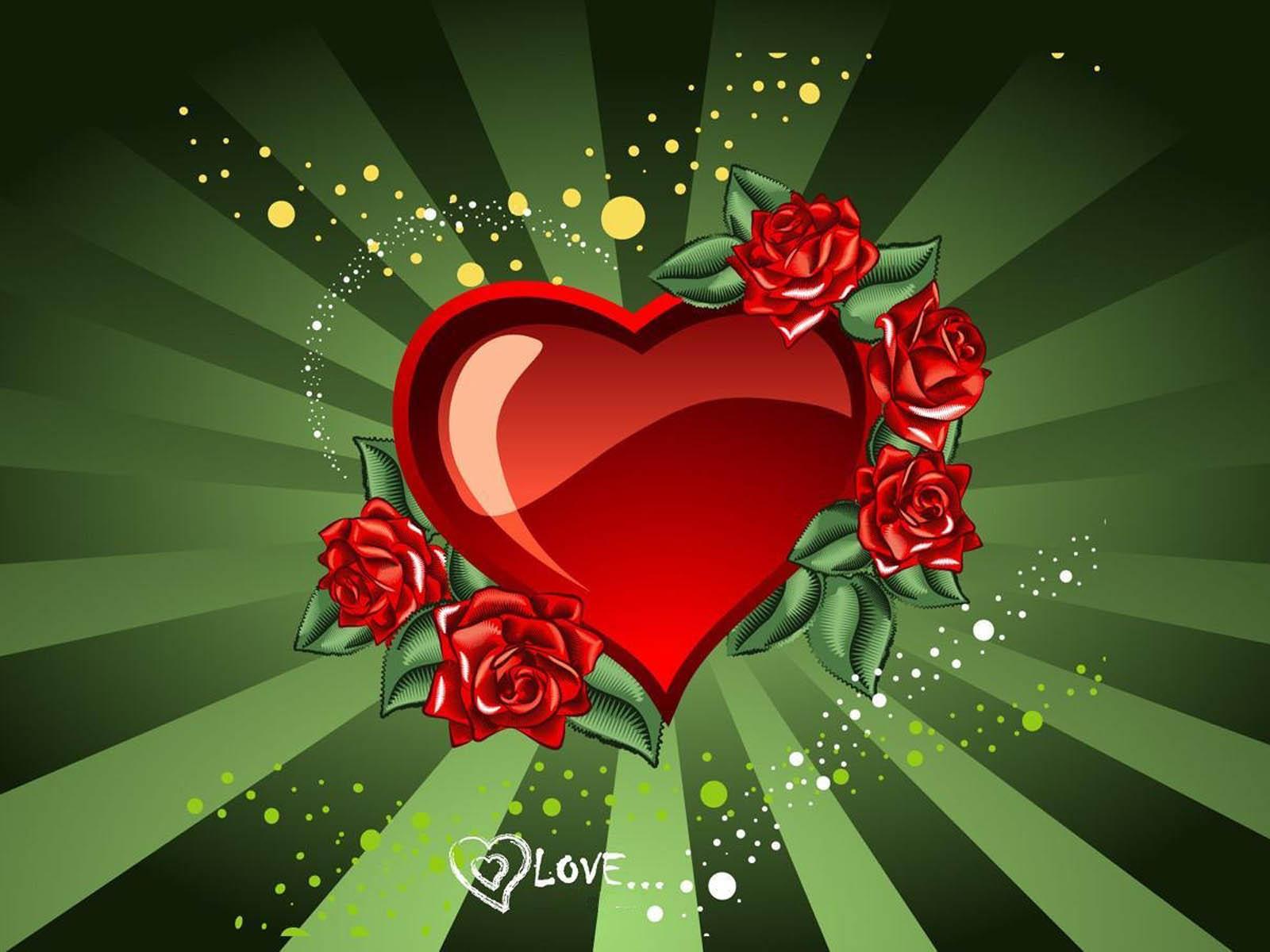 Wallpapers: Love Heart Wallpapers