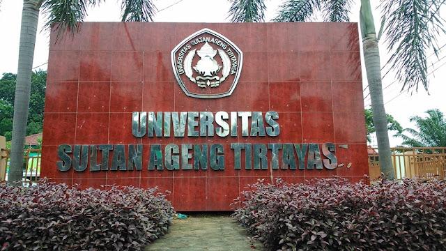 Informasi Pendaftaran Mahasiswa Baru (UNTIRTA) Universitas Sultan Ageng Tirtayasa 2019-2020