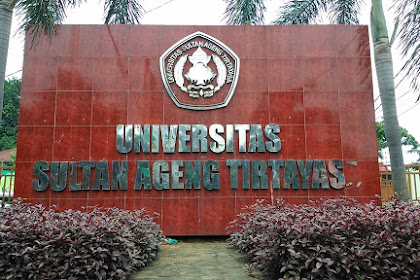 Informasi Pendaftaran Mahasiswa Baru (UNTIRTA) 2020-2021