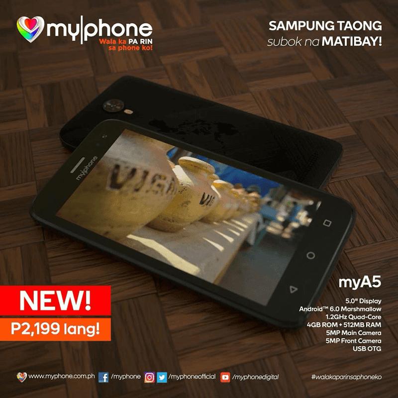 MyPhone MyA5