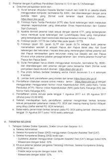 Inilah Jadwal dan Tahapan Seleksi CPNS Kemenkumham Terbaru 2017