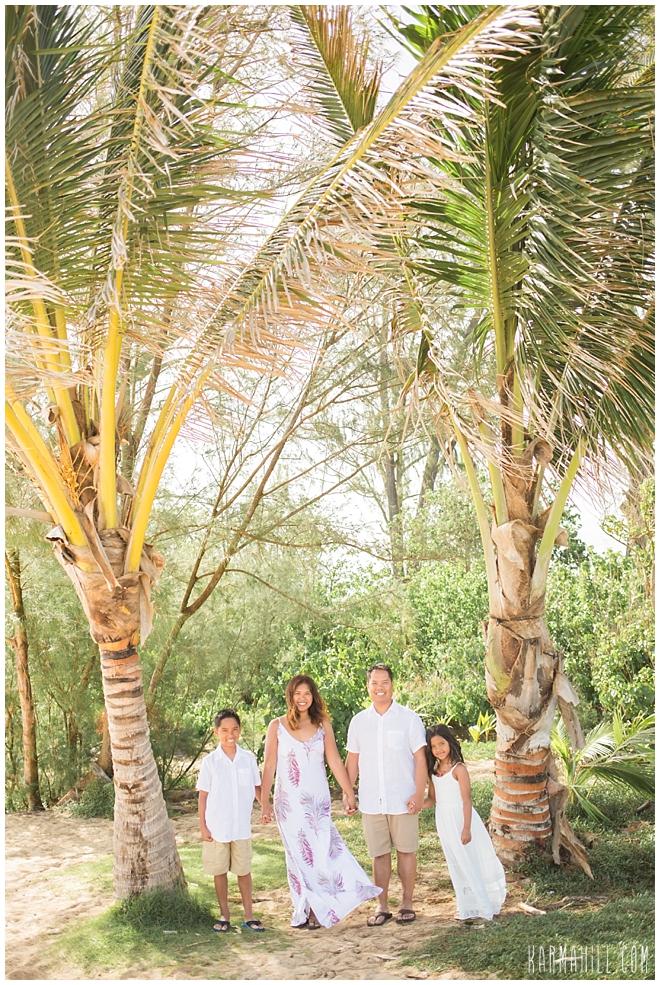 Maui Family Portrait