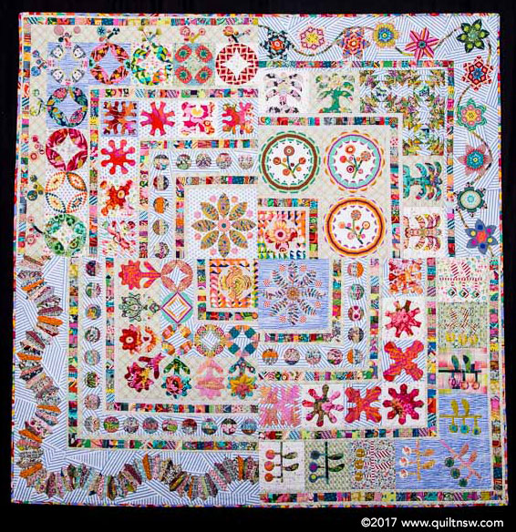 Sydney Quilt Show 2017 Prize Winners Best Of Show And