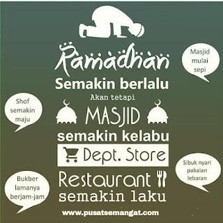 Pertaruhan Keimanan di Akhir Ramadhan