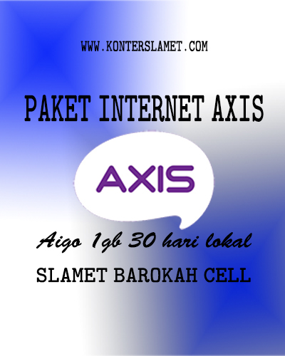 Internet Lokal Axis 1GB