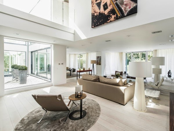 Stunning Belgian Family Home with Floor-to-Ceiling Windows