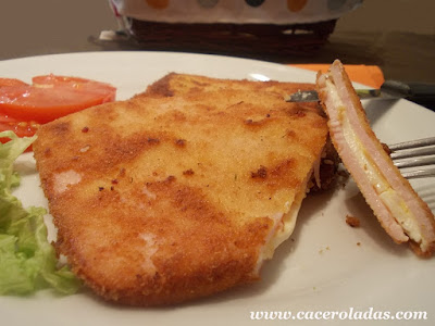 San jacobos caseros rellenos de queso
