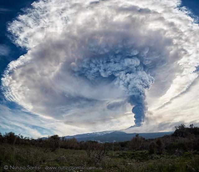 MT. Etna Erupts/Ash Warning Map.  Mount-etna-eruption-picture-1