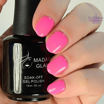 Madam glam barbie girl swatch