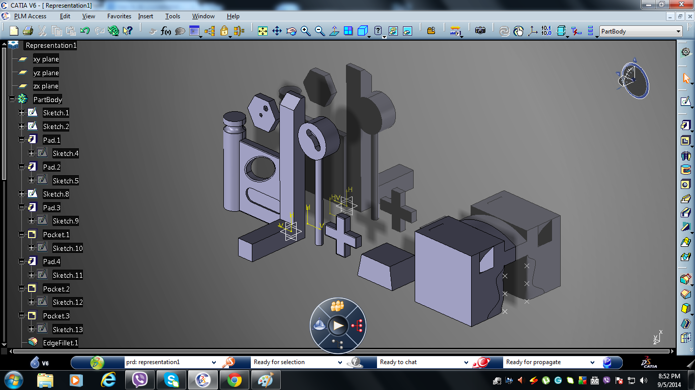 Catia Part Design Tool Caddskills
