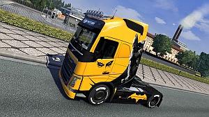 Batman Volvo skin