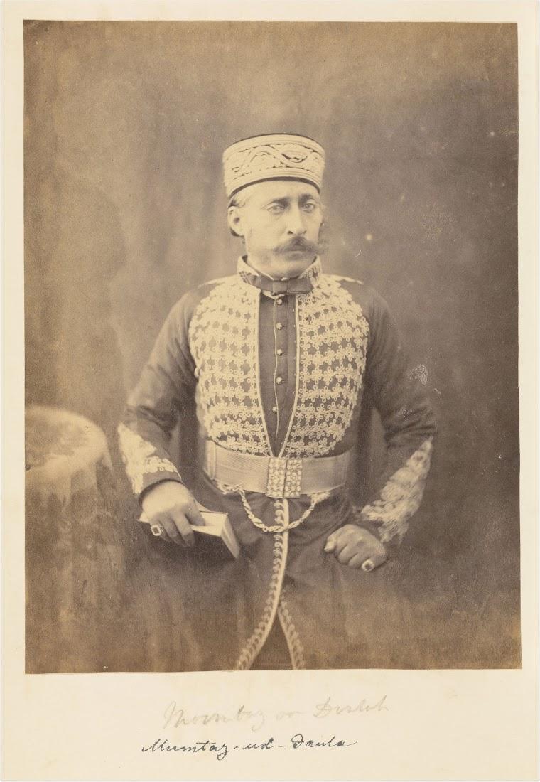 Mumtaz-ud-Daulah of Oudh Royal Family - c1850-60's