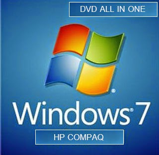 HP COMPAQ Windows 7 SP1 32/64 bit All in one