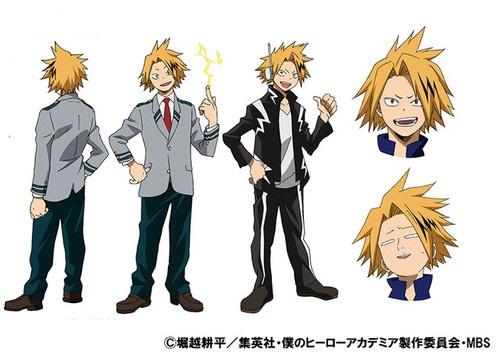คามินาริ เดนกิ (Kaminari Denki) @ My Hero Academia: Boku no Hero Academia มายฮีโร่ อคาเดเมีย