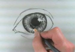 Göz resmi çizim teknikleri -4