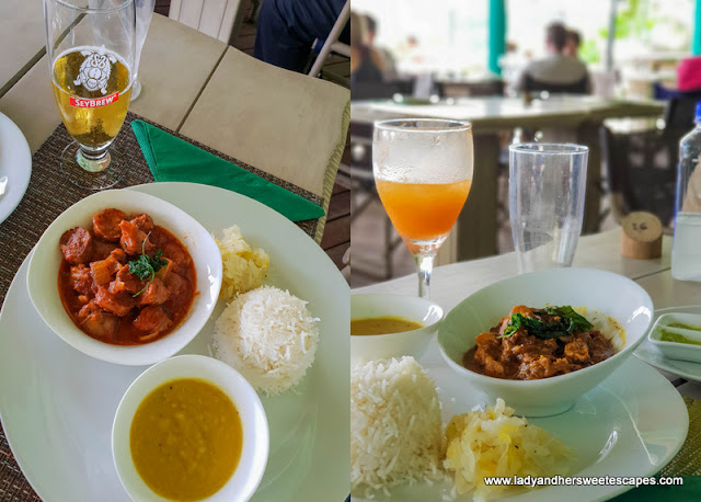 lunch in Kafe Kreol in Seychelles