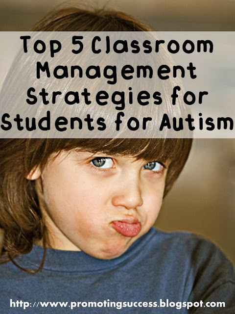 Autism Classroom Management Strategies Teachers Pay Teachers Promoting-Success