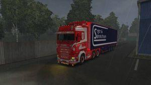 Sejer & Søn Skin for Scania RJL