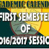 EKSU RELEASED NEW ACADEMIC CALENDAR FOR 2016/2017 SESSION