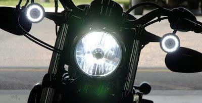 Lampu Motor Lebih Terang
