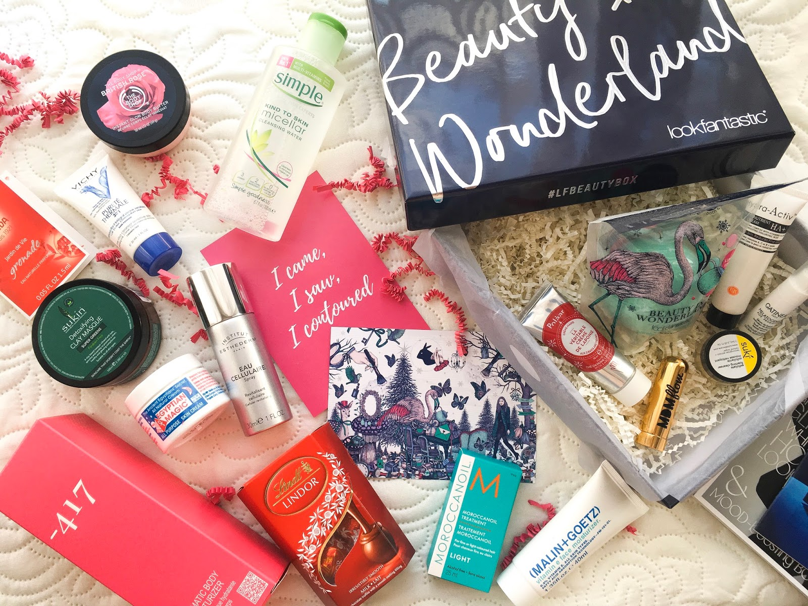 look fantastic beauty box monthly review, latest in beauty build your own box review
