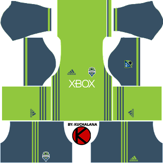 Seattle Sounders FC 2016 - Dream League Soccer Kits and FTS15