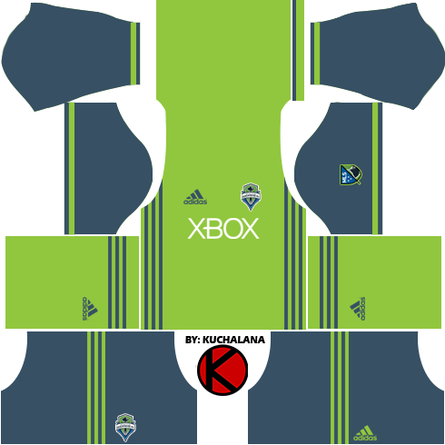 Seattle Sounders FC Kits 2016 - Dream League Soccer Kits and FTS15
