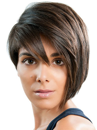 Short Feather Cut Hairstyles