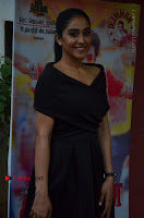 Actress Regina Candra Pos in Beautiful Black Short Dress at Saravanan Irukka Bayamaen Tamil Movie Press Meet  0032.jpg