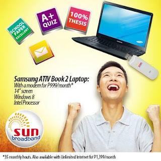 Samsung ATIV Book 2 Sun Cellular