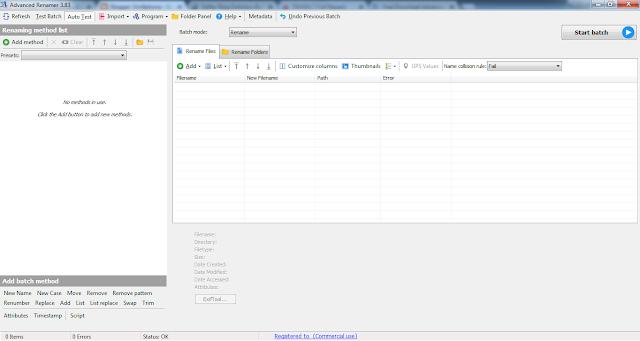 Download Advanced Renamer 3.83 Full Version