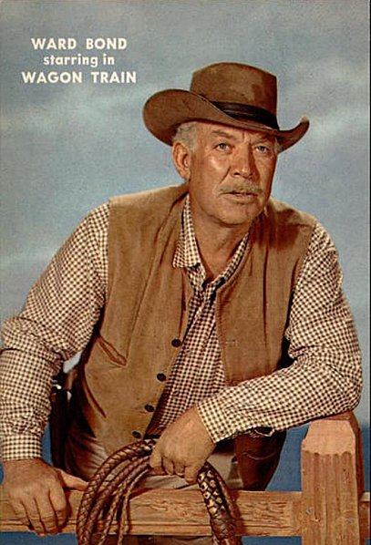 Image result for ward bond in wagon train