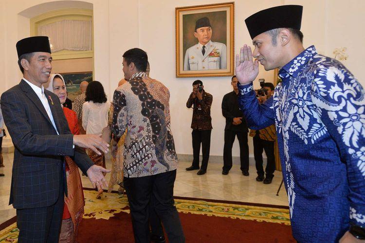 Sebab AHY sowan ke Jokowi ketimbang ke Prabowo ternyata