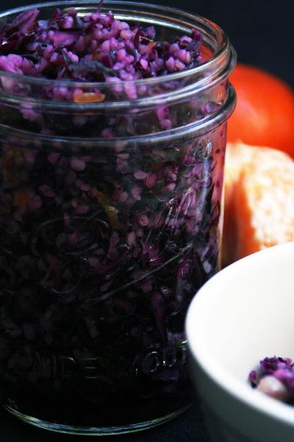 Rotkohl-Bulgur-Salat