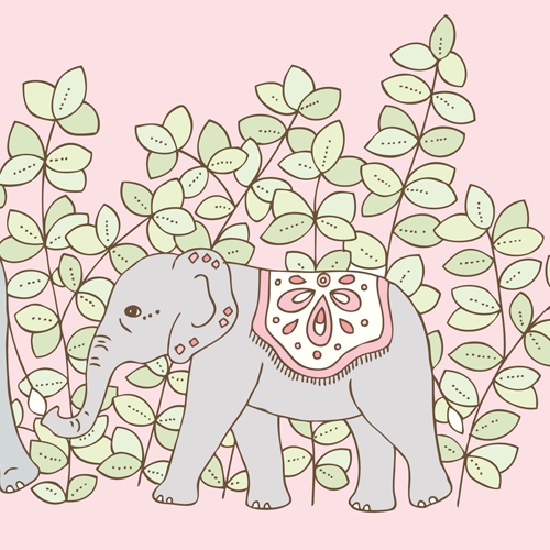 Emma Margaret Illustration Elephant 2016