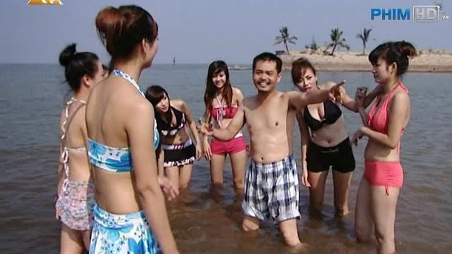 Hình ảnh các hot girl xinh đẹp trong Phim hài tết Việt