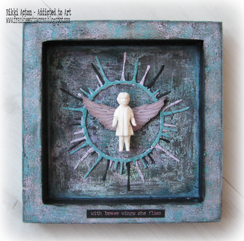 Seth Apter dies and Tim Holtz Salvaged Dolls