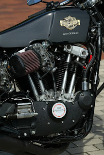 harley xlcr style by sundance on xr 1000 engine