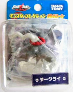 Darkrai figure Takara Tomy Monster Collection Battle Scene series