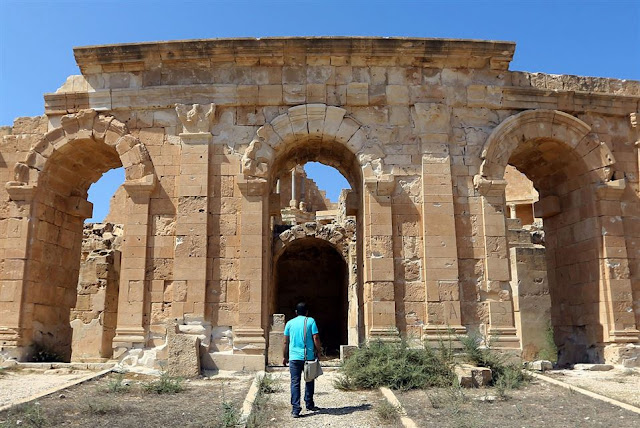 'Jewel of Roman Empire' faces Libya dangers