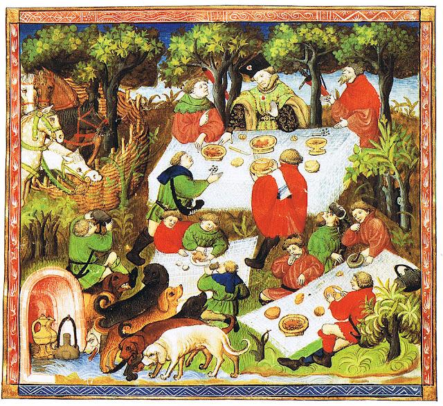 Pique-nique médiéval