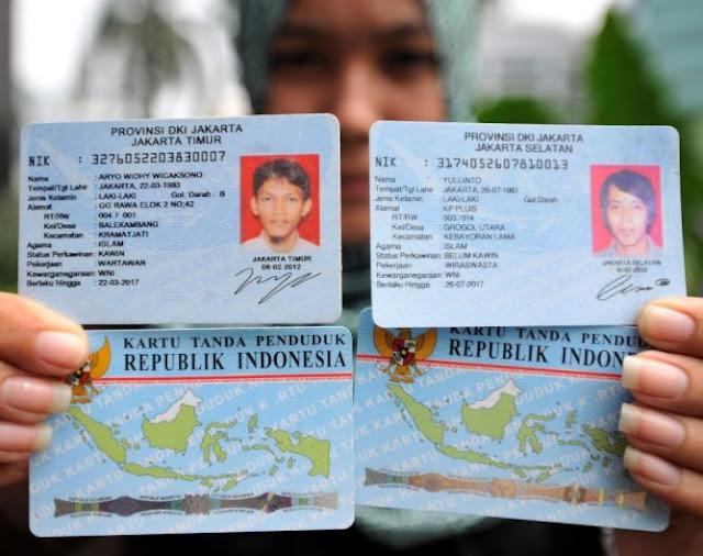 Syarat mengurus KTP Jakarta