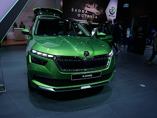Skoda Kamiq debut in Frankfurt