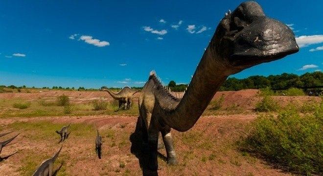 Estudo revela que dinossauro manco viveu há 85 milhões na região