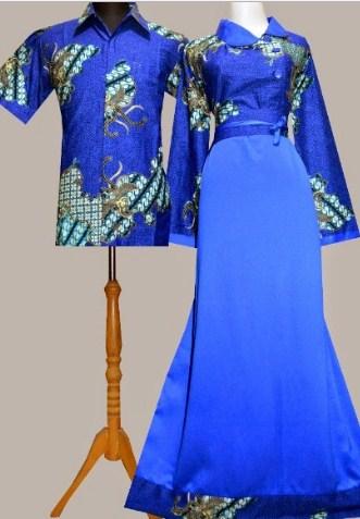 20 Model Baju Batik Kombinasi Terbaru Modern 2017