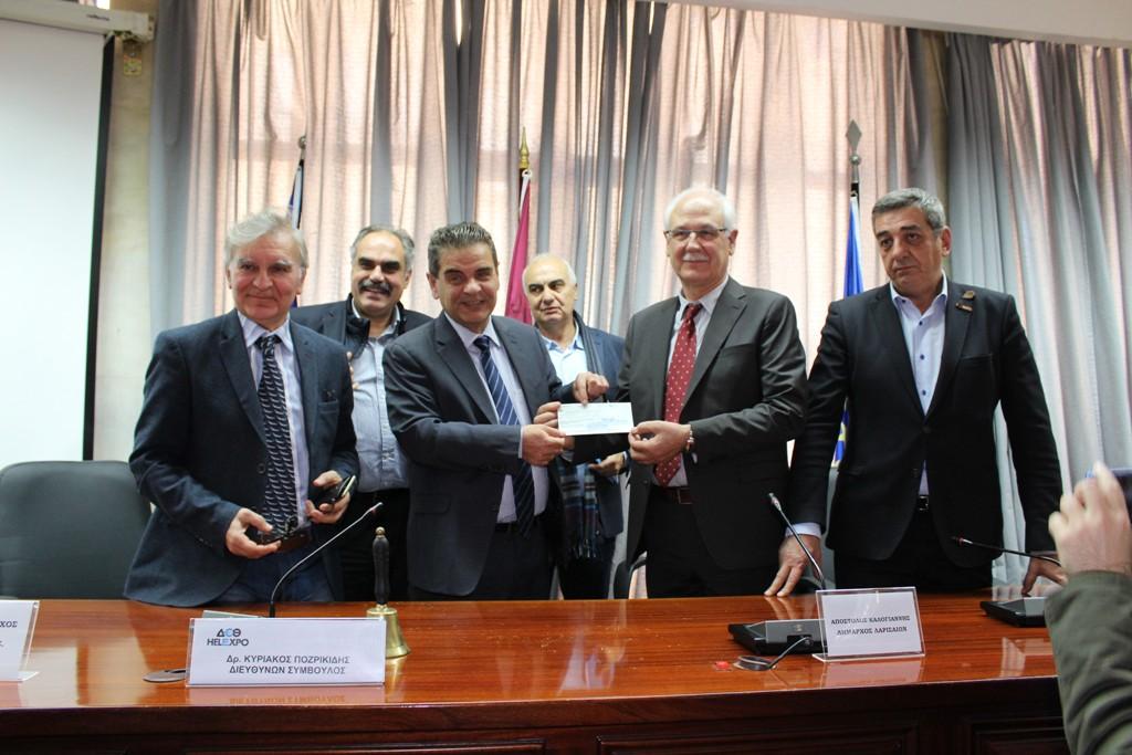 Το δρόμο για νέα κοινά εκθεσιακά προϊόντα  από ΔΕΘ-Helexpo και Δήμο Λαρισαίων άνοιξε η Agrothessaly