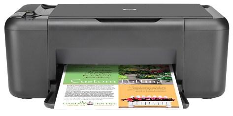 Hp deskjet f2483 windows 7 printer
