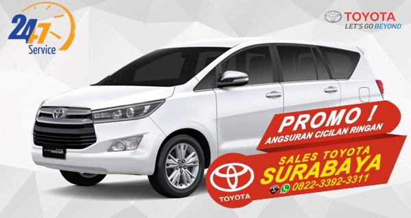 Promo Angsuran Cicilan Ringan Toyota Innova Surabaya
