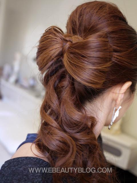 EbeautyBlog.com: Beautiful Wedding Hair Bow Tutorial