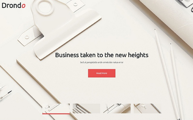 Dorondo – Light and Unbelievable Corporate WordPress Theme